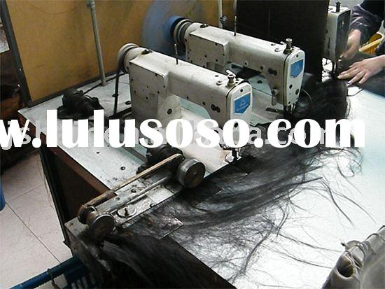 three head sewing machine/hair weft machine/industrial sewing machine