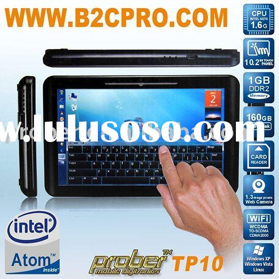 touchscreen laptop with competitive price with 10.2 inch , bluetooth,GPS