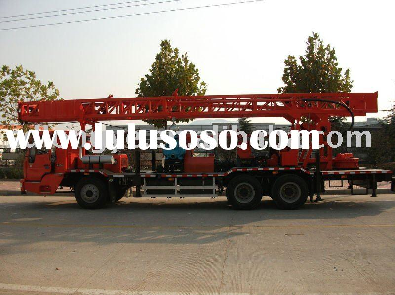 truck mounted water well drilling rig(SLY500)