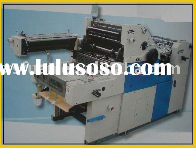 two colors offset press printing machine
