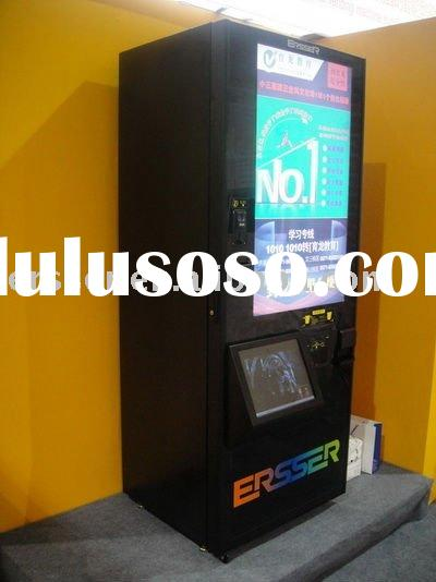 vending machine with 42' lcd display and 15' touch screen