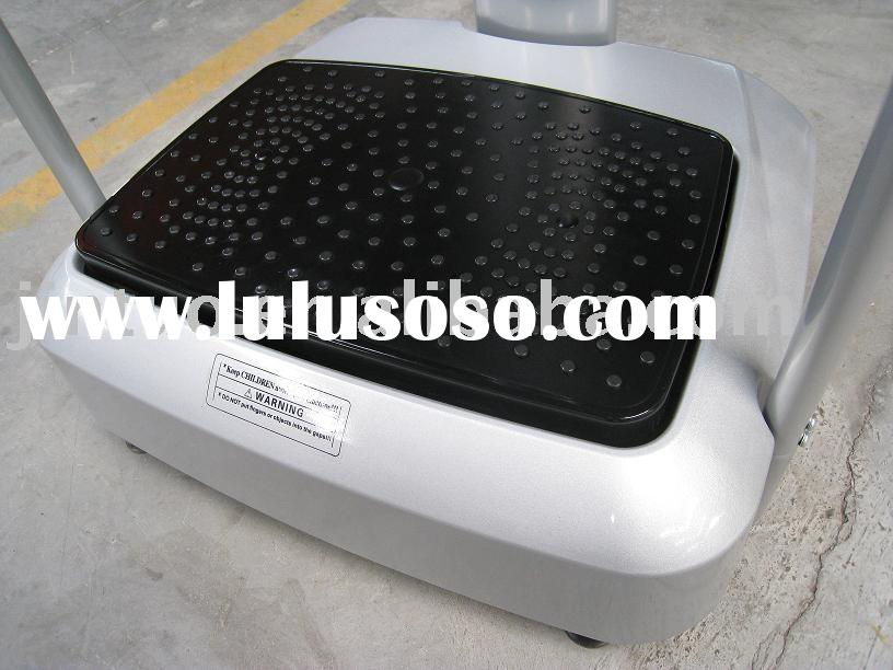 vibration machine ,crazy fit massage,vibration platform with CE & ROHS certificate by SGS