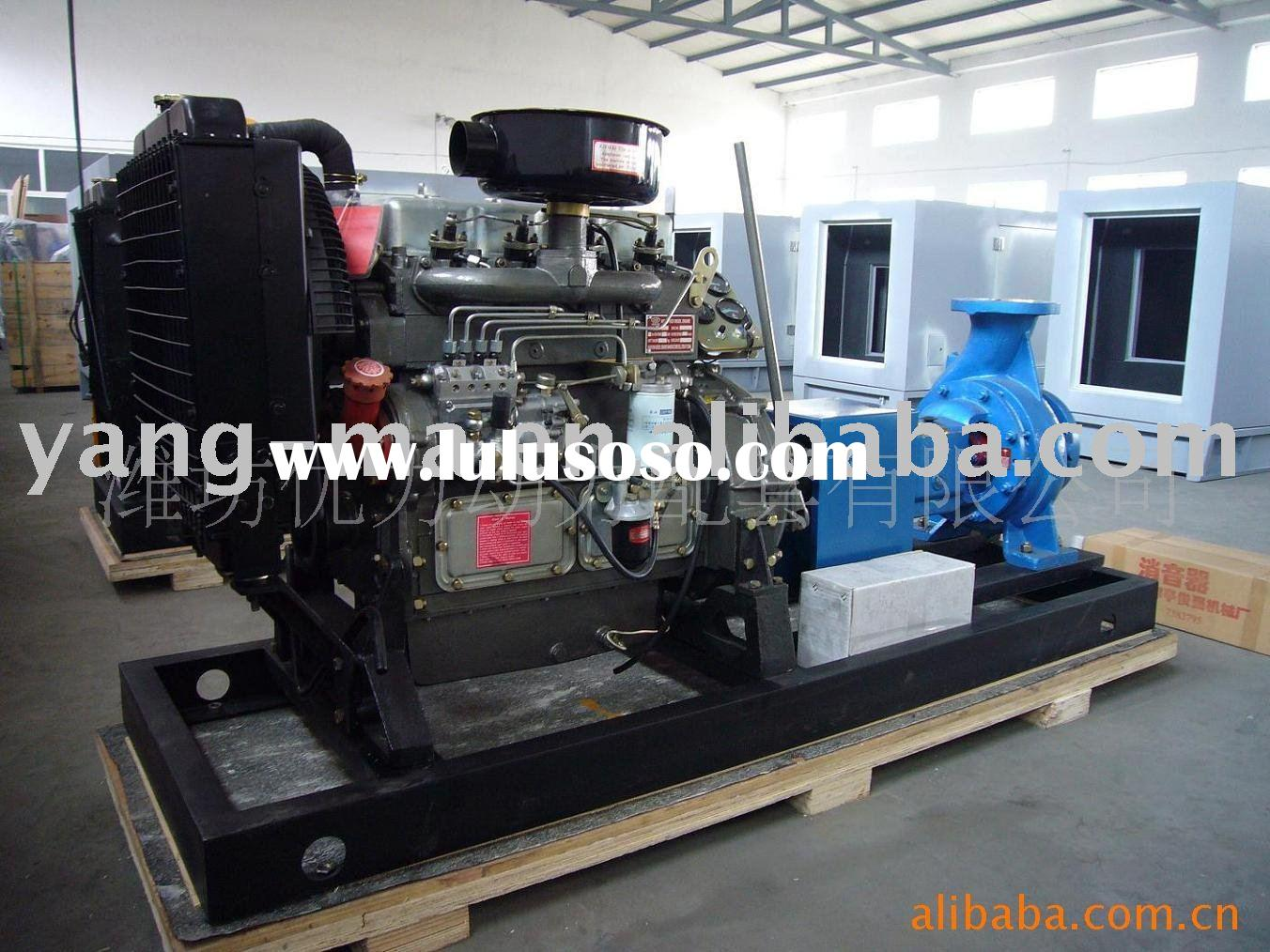 water cooled self-priming farm irrigation centrifugal diesel water pump sets