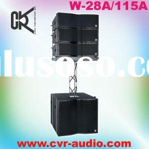 wedding parties sound installation line array system