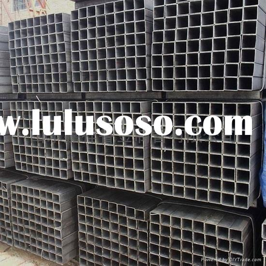 welded stainless steel square pipe tube