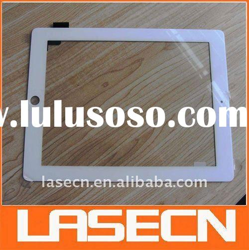 wholesale for iPad 2 digitizer glass,touch screen white/black, accept Paypal