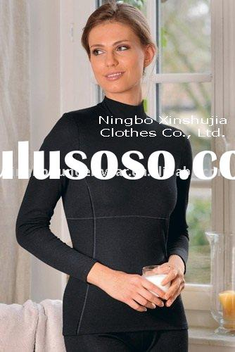 women's wool long sleeved turtleneck shirt