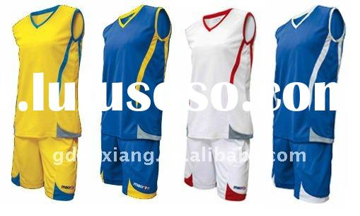 womens colorful basketball uniform for OEM Service