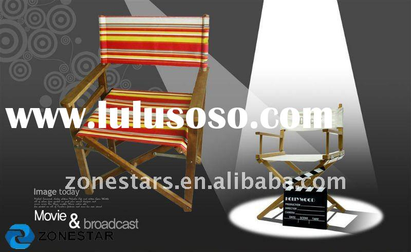 wood director chair/canvas chair/wood folding chair/relaxable chair/outdoor chair/canvas chair