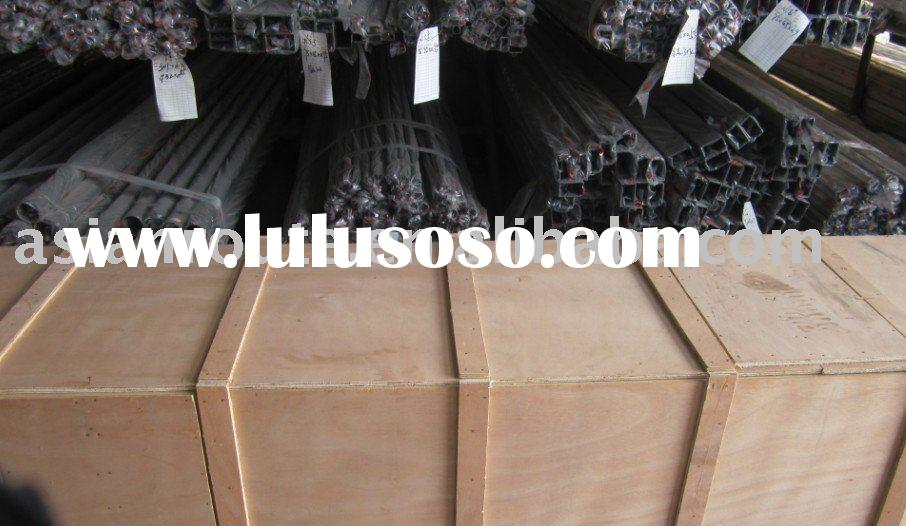 wooden package hot rolled/cold drawn/automatically polished stainless steel hexagon hollow bar