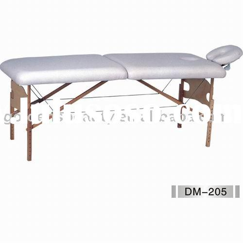 wooden portable facial bed,folding massage table,beauty bed