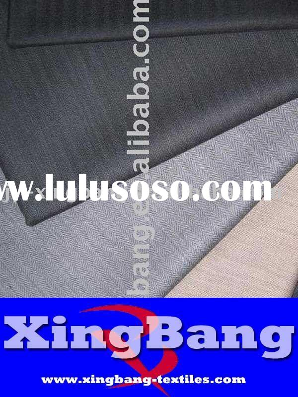 woven worsted wool suiting fabrics for men and lady