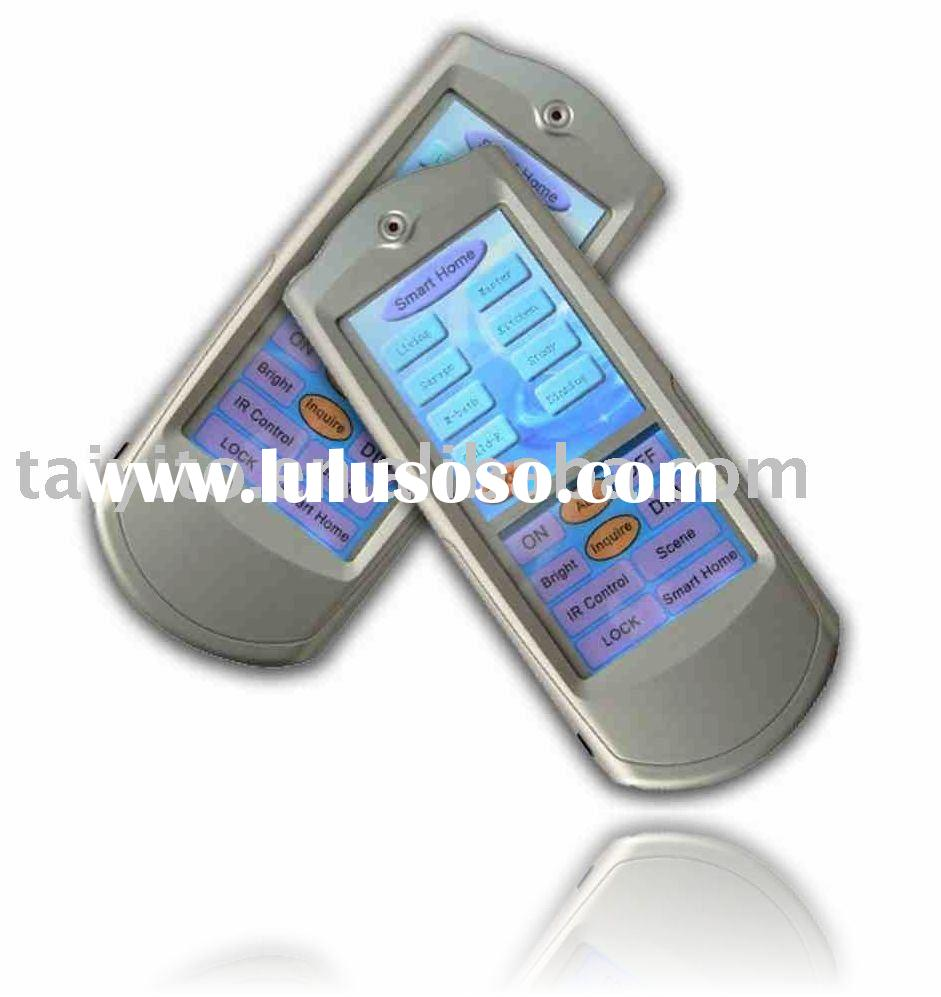 x10 touch screen LCD remote control