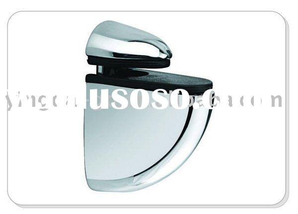 zinc alloy shelf glass support/bracket/holder/clamp