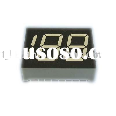 0.45 inch three digit 7 segment LED display