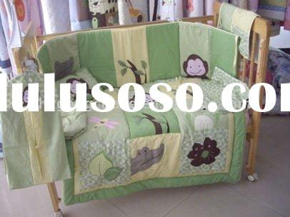 100% Baby bedding crib set/ Baby bedding set