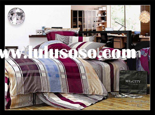 100% Cotton Reactive Printed Bedsheet Set/Quilt cover