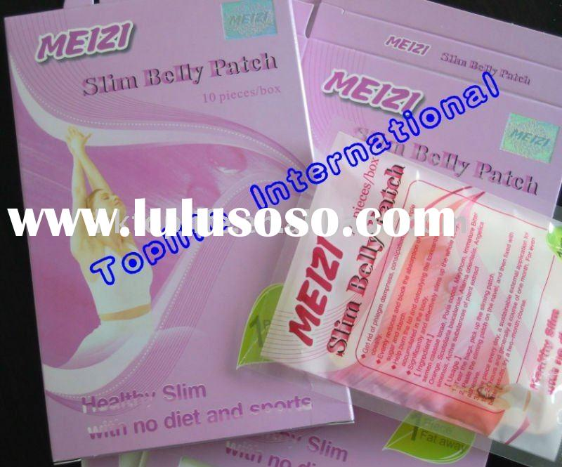 100% Original 2011 Meizi Slim Belly Patch,Herbal Weight Loss Slimming Patch ,New Arrival