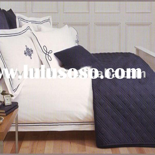 100% bed sheet set /embroidery duvet cover bedding set- MAYFAIR bedding sets