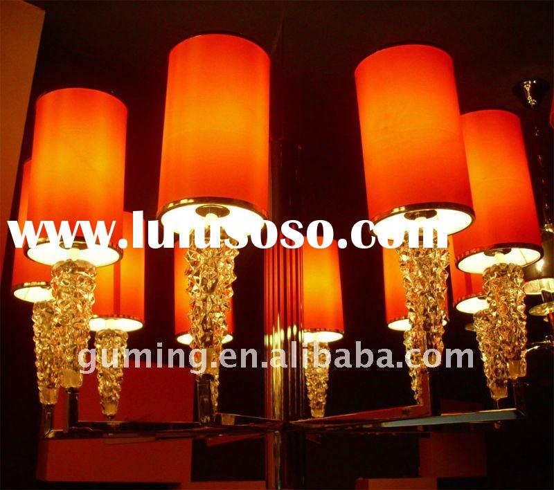 10 Red Lamp Shades Contemporary Chandelier Light