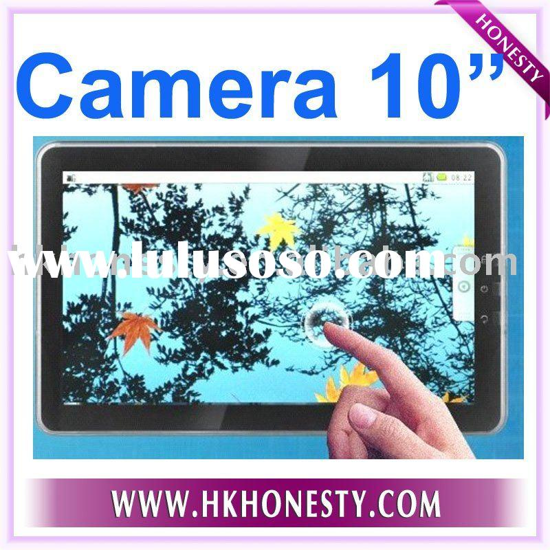 10inch Tablet PC with Camera Google Android 2.1 OS Multi Touch Tele Chip Wifi 3G