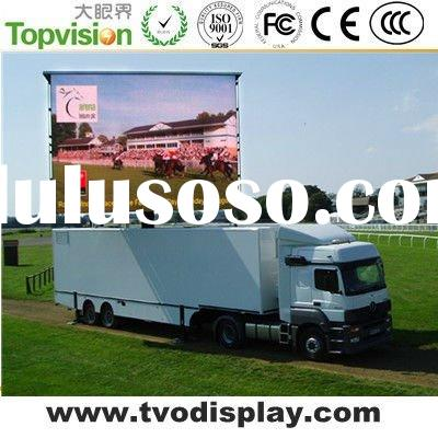 10mm Mobile Truck Advertising Led Display Screen