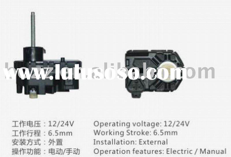12/24V Electric/Manu Auto headlamp motors,head lamp motors,headlight regulator,adjuster motor,head l