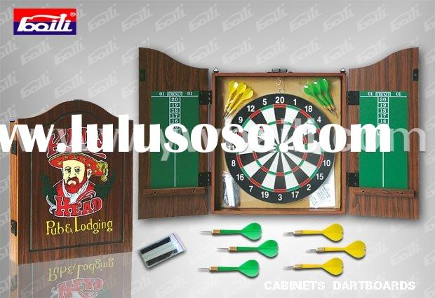 "12"" MDF frame dart board game"