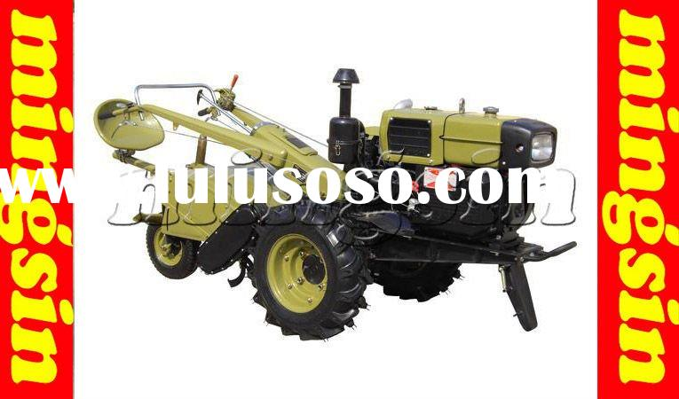 12hp power tiller / walking tractor used in the small farm field