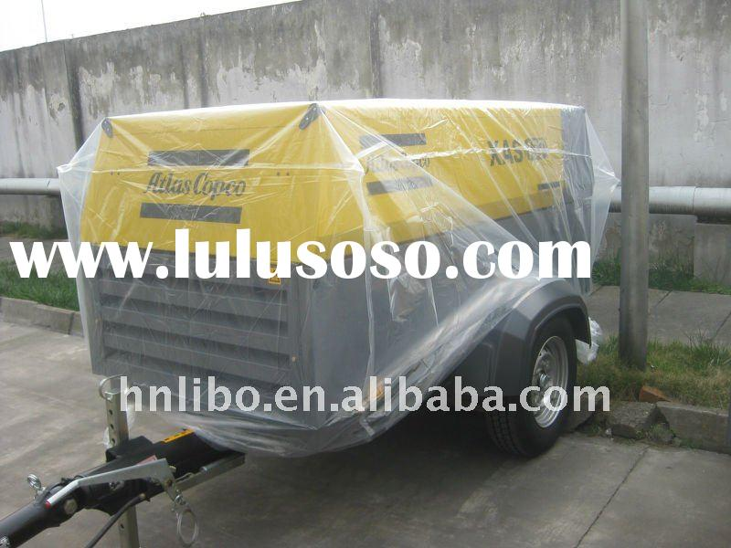131cfm @7bar atlas copco mobile air compressor with Deutz diesel engine