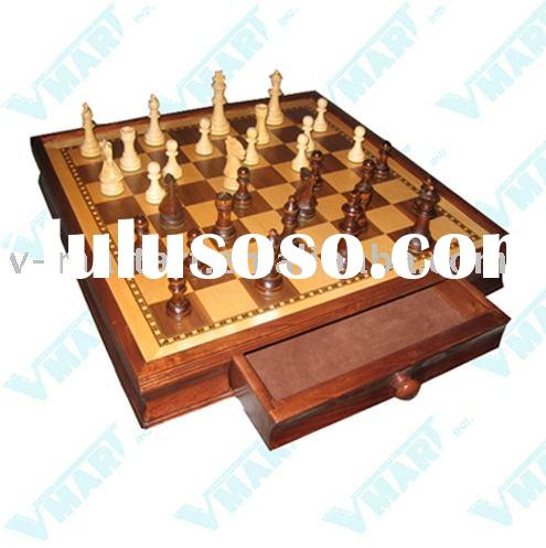 17-inch Chess Set with Storage