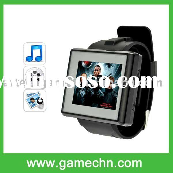 1.8 inch MP4 Player Watch Support Music Ebook Video