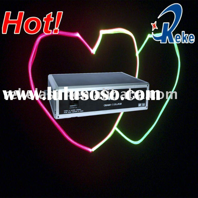 2000mw RGB animation laser lite, disco lite, party lite