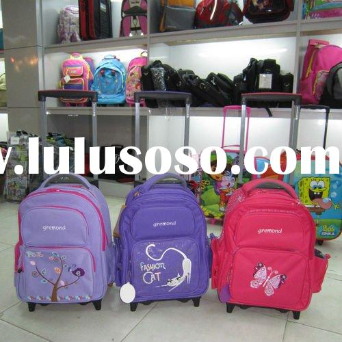 2011 New Style High Quality School Trolley Bags For Teenagers