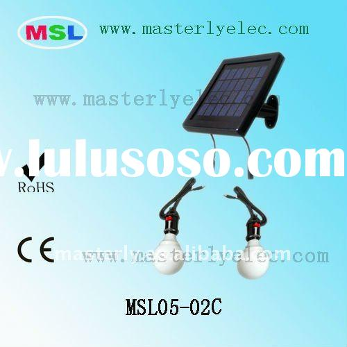 2011 Portable Solar Lighting System For Home