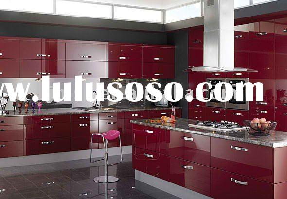 2011 Supply High Gloss Kitchen Cabinet ( Model: 3174---High End Quality & Sample offered)