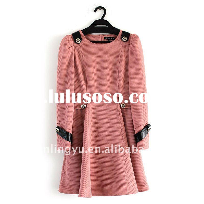2011 best sell new style brand fashion women dress;beautiful design lady's clothes