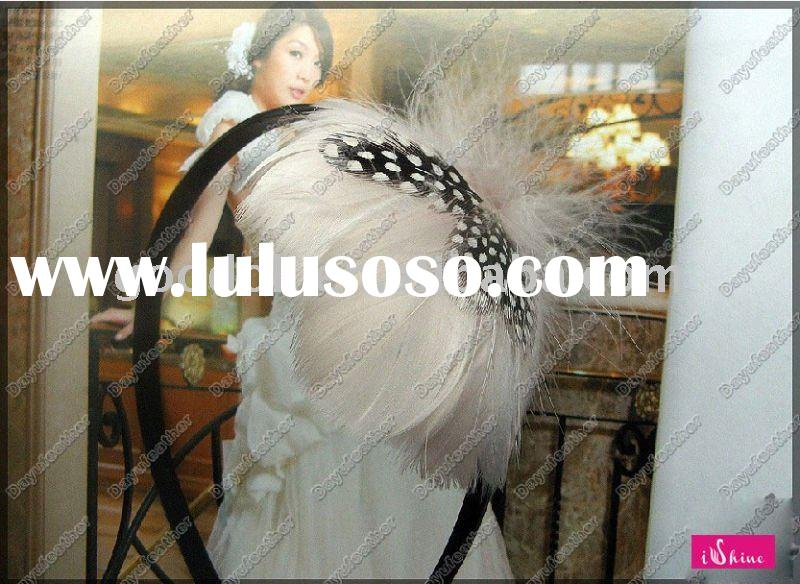2011 hot sale feather indian wedding hair accessories