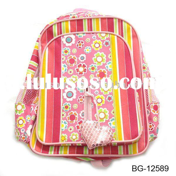 2011 mix style hot seller school bags girls for grade 3~6 school kids