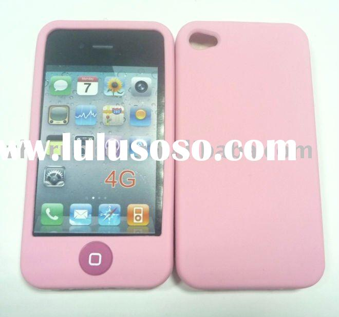 2011 new arrival silicone case for iphone 4