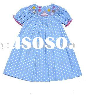 2011 summer fashion&cute short sleeve kids dresses