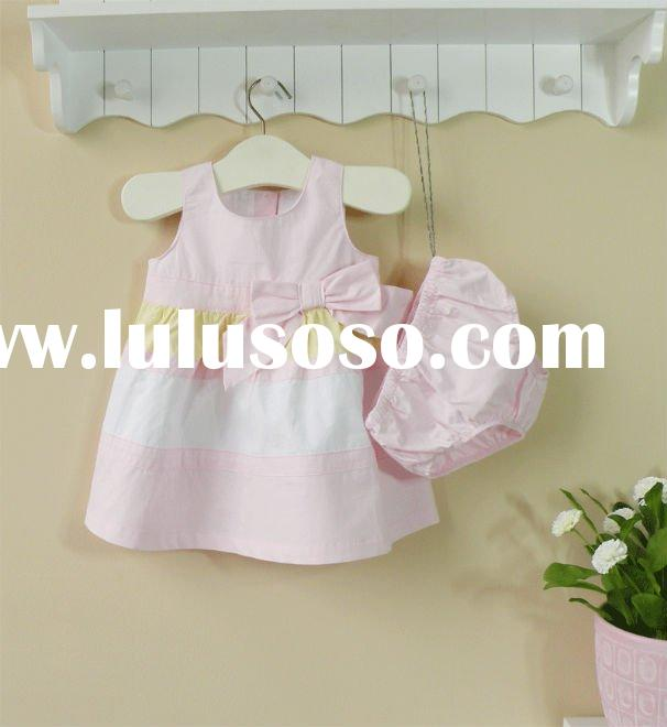 2011 summer mom and bab baby clothes 100% cotton dress pants new arrival