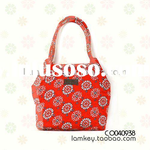 2011 top designer women quilting tote bags promotional