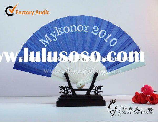2012 New products !!! promotional advertising plastic hand fans