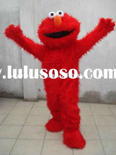 2012 hot sale Popular mascot costumes/movie cartoon costume Elmo