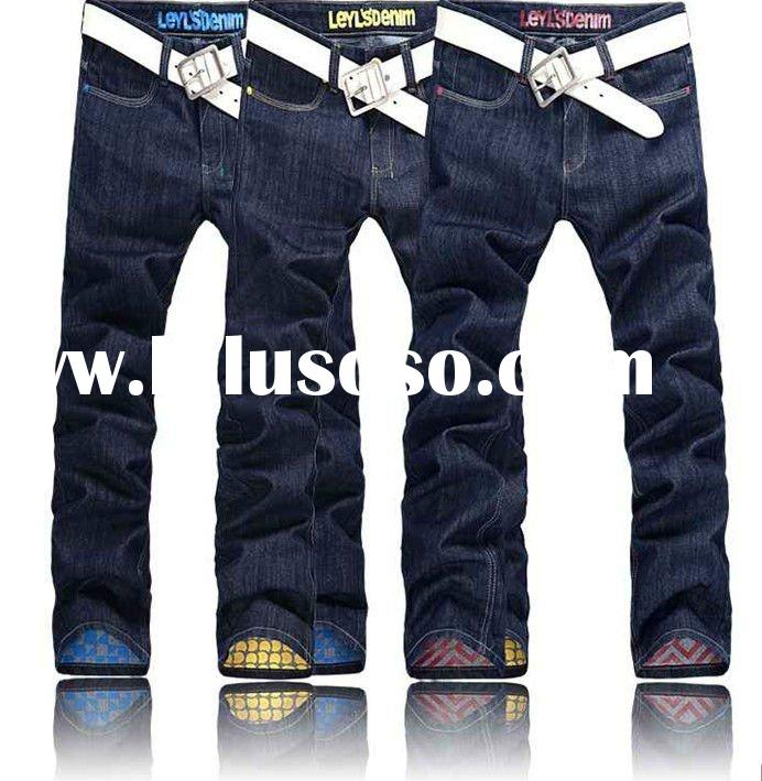 2012 new mens fashion colored skinny jeans for men