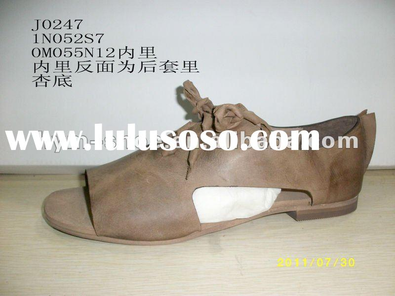 2012 summer ladies fashion flat sandals