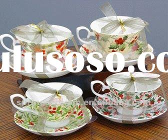 220ML ceramic cups and saucers&tea cup and saucer