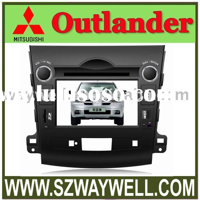 2 Din Car DVD Player for Special Car MITSUBISHI OUTLANDER with built-in GPS, Dual Zone, Digital Pane