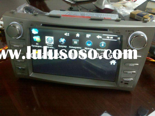 2 din in-dash car pc android with car dvd full remote control